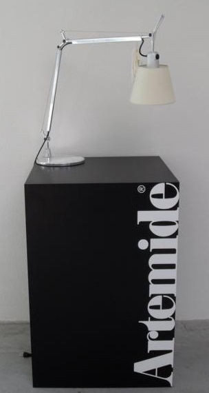 artemide tolomeo basculante lettura pergament leselampe ebay. Black Bedroom Furniture Sets. Home Design Ideas