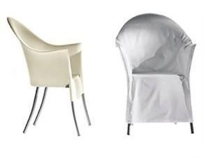 driade lord yo stoffhusse weiss husse philippe starck. Black Bedroom Furniture Sets. Home Design Ideas